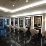 国分寺美容室内装の施工例1